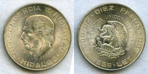 Mexico Silver Ten Pesos