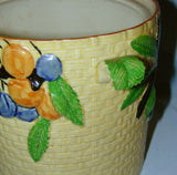 Majolica Cookie Jar