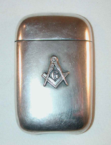 Masonic Match Safe