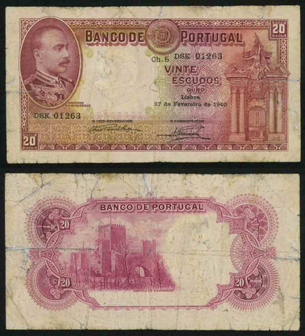 Portugal Banknote