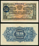 1919 Mozambique 50 Centavos Banknote Pick Number R4a Banco Da Beira Choice About Uncirculated