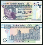 ND 1994 Northern Ireland Five Pounds Sterling Banknote Bank of Ireland Belfast Pick 70c Harrison Signature Crisp Uncirculated