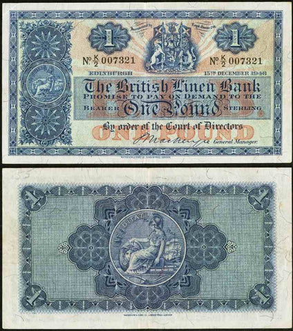 Pound Sterling Banknote