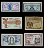 Spain Banknotes