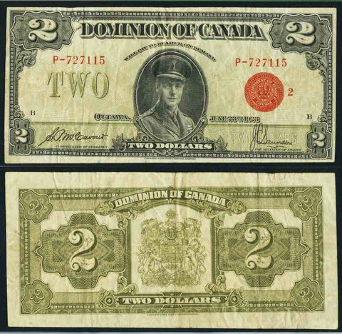Canada Two Dollar Banknote