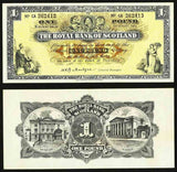Scotland One Pound Banknote