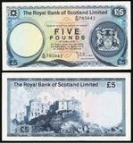 Scotland Five Pound Banknote
