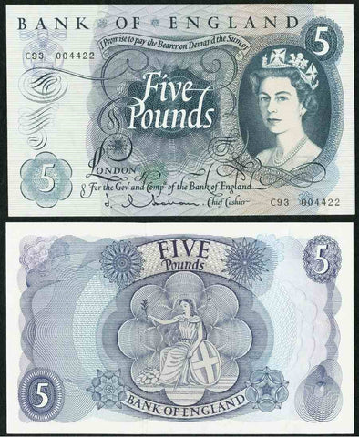 Great Britain Five Pound Banknote