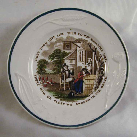 Small Proverbs Plate