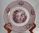 Mulberry Transfer Ware Plate