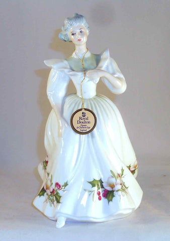 Royal Doulton China December 1987 Figure of The Month By Peggy Davis N. H. 2696