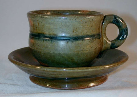 Isaac Stahl Redware Cup