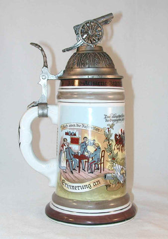 German Porcelain Stein