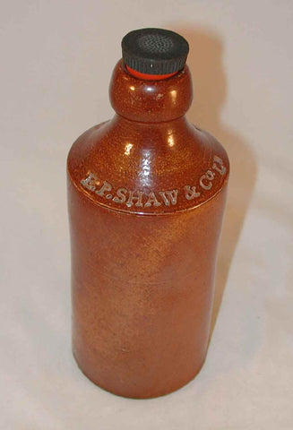 Stoneware Ginger Bottle