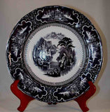 Staffordshire Soup Bowl