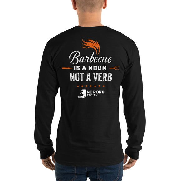 Barbecue is a Noun: Adult Long Sleeve