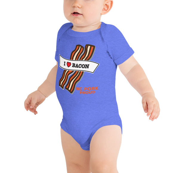 I ♥ Bacon: Infant Bodysuit