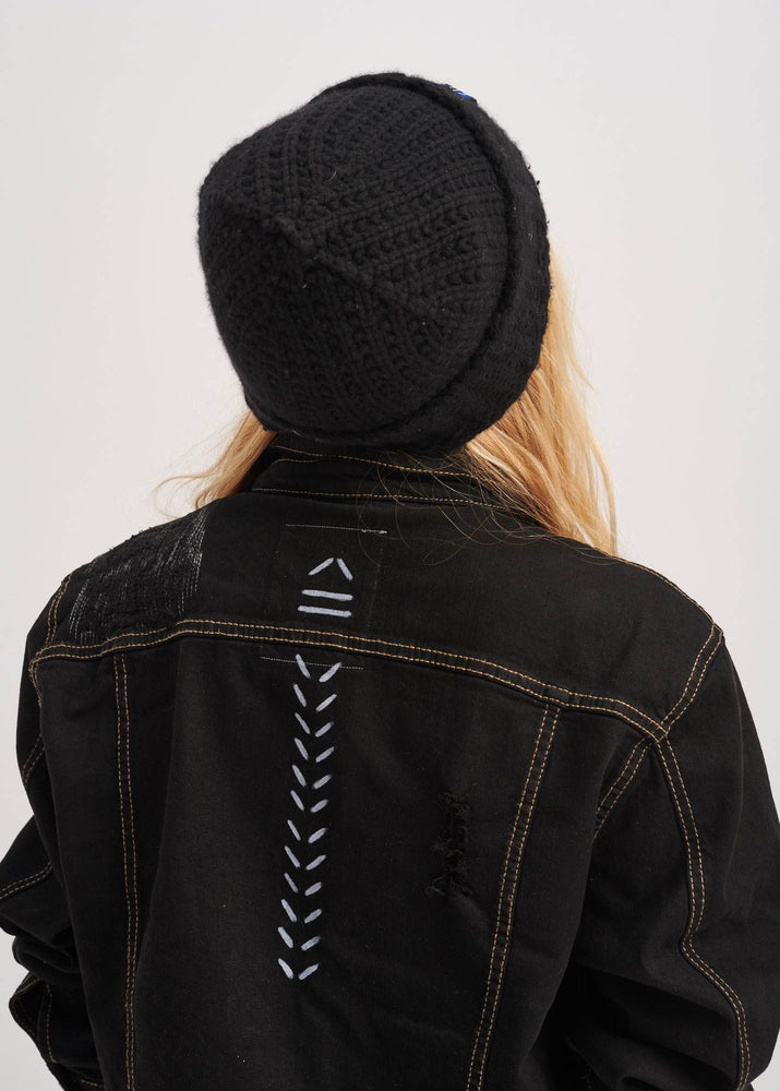 Load image into Gallery viewer, Free x Black Denim Jacket