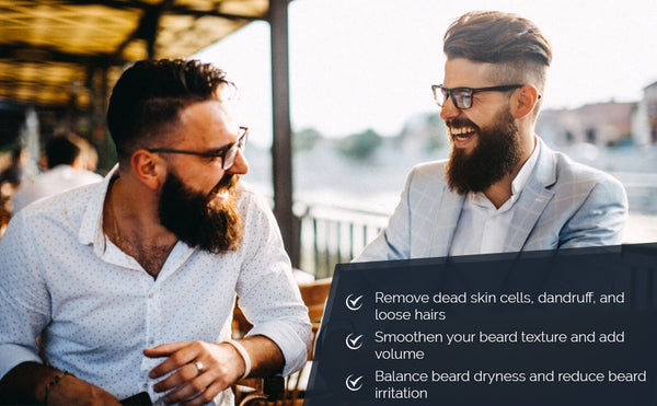 Moisturize, Hydrate, Repair, Add Volume to your beard