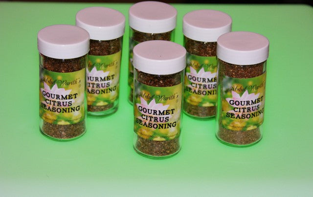 Abdul Warith's Citrus Seasoning