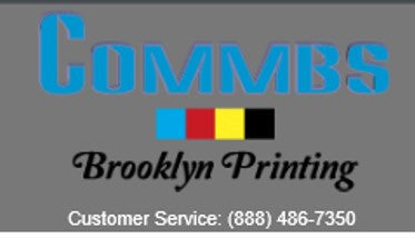 Service: COMMBS BROOKLYN Printing (3rd Party Site)