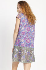 Block Printed Third Eye Tunic Dress