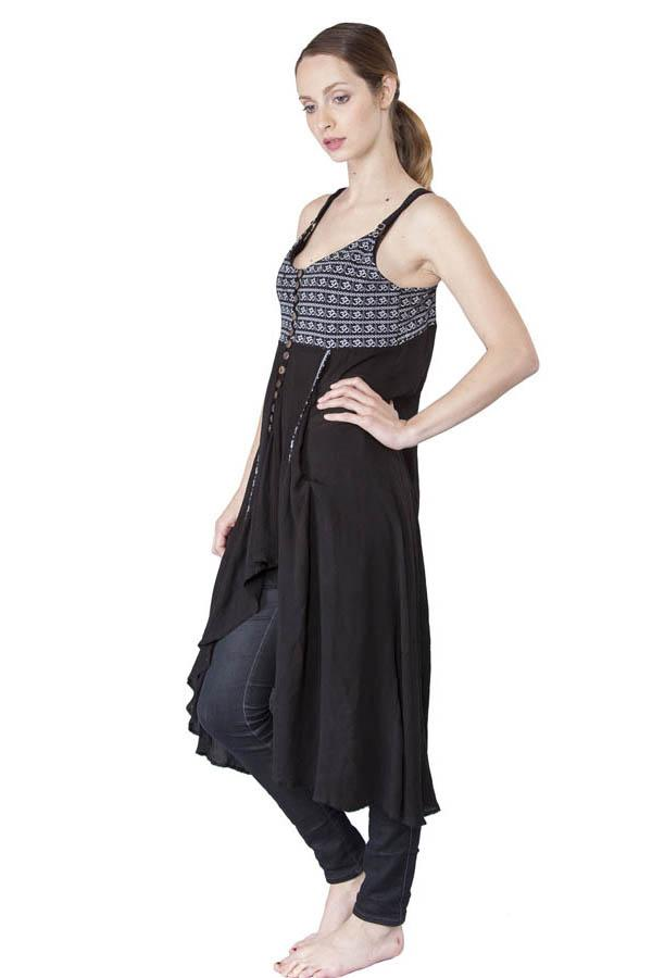 Never Far From Om Sheer Organic Dress