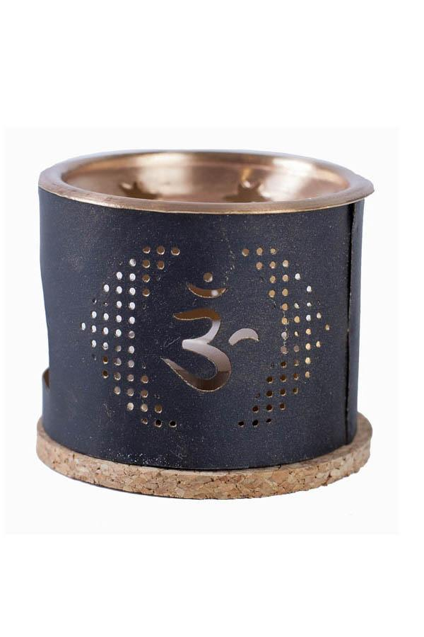 Om Incense Bricks Burner
