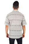 Men's Cotton Half Sleeve Summer Kurta Top Shirt
