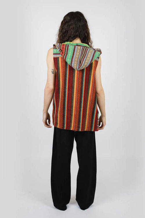 Rasta Gheri Hooded Vest