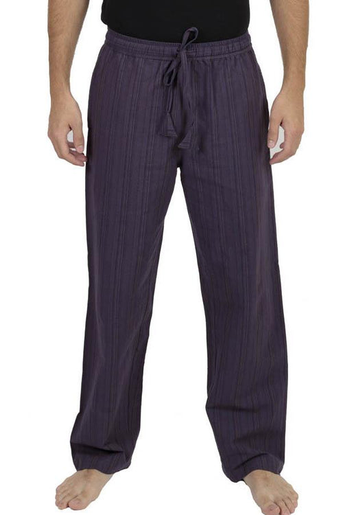 Unisex Stripe Comfy Weekend Lounge Pant with Elastic Waist