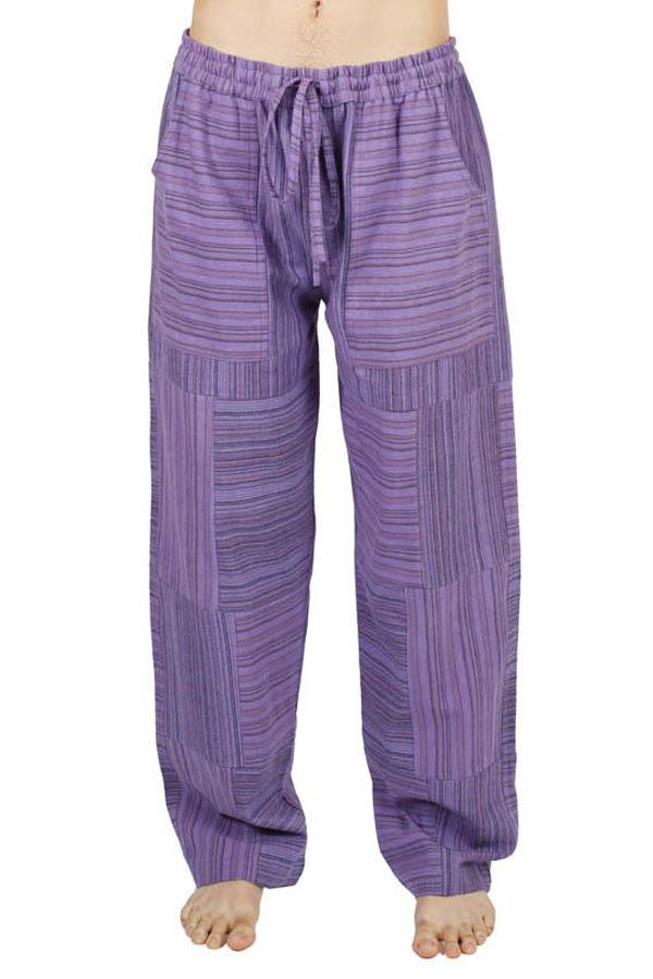 Funky Boho Stripe Patchwork Pants