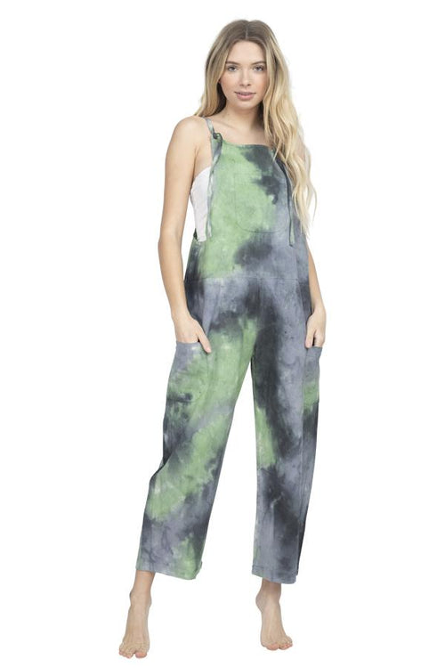 Tie-Dye Oversized Overall