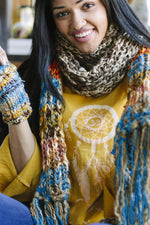 Soft Super Chunky Oversized Fringe Winter Scarf