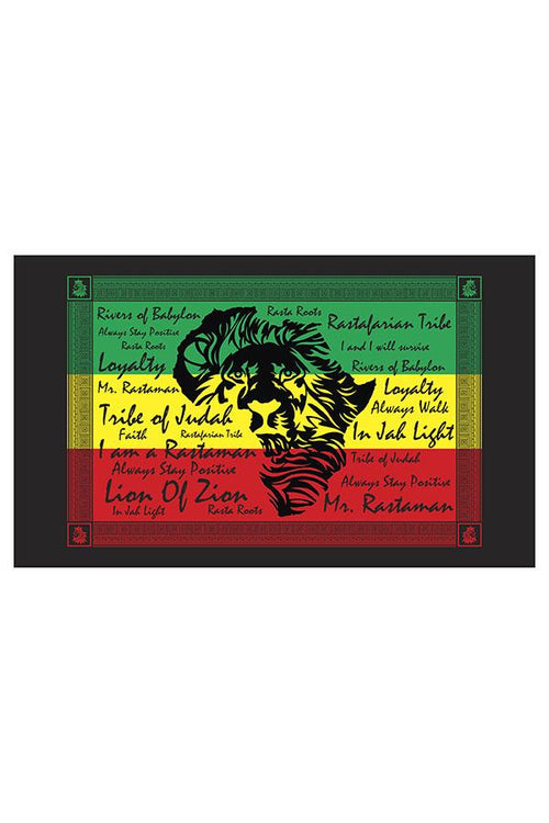 Rasta African Multi-Way Sarong