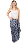 Paisley Ponds and Lily Pads Mutli-Way Sarong