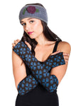 Vajra Print Organic Cotton Arm Warmers