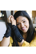 Lace and Grace Fingerless Gloves