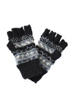 Winter Love Fingerless Wool Arm Warmers