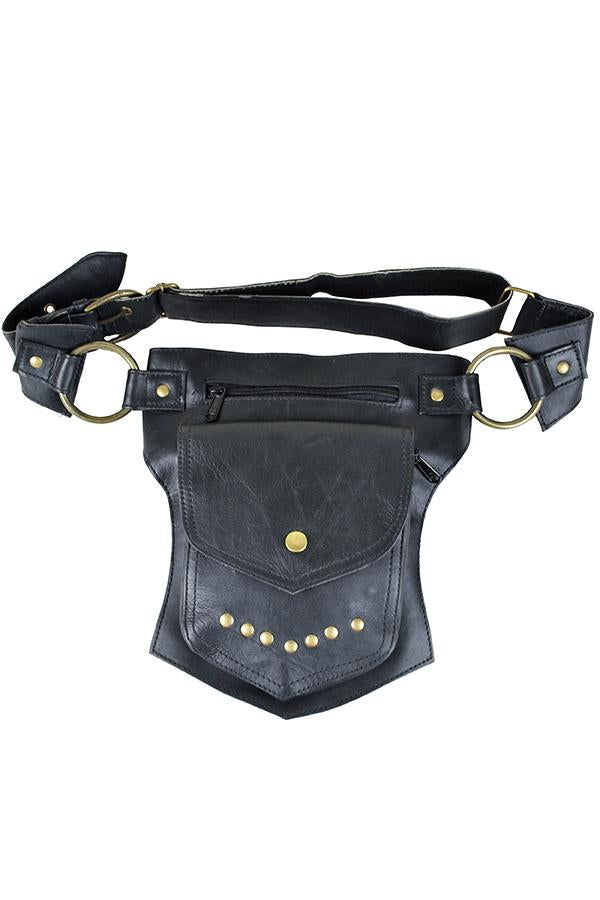 The Women's Traveller Pack - A Leather Hip  Utility Belt