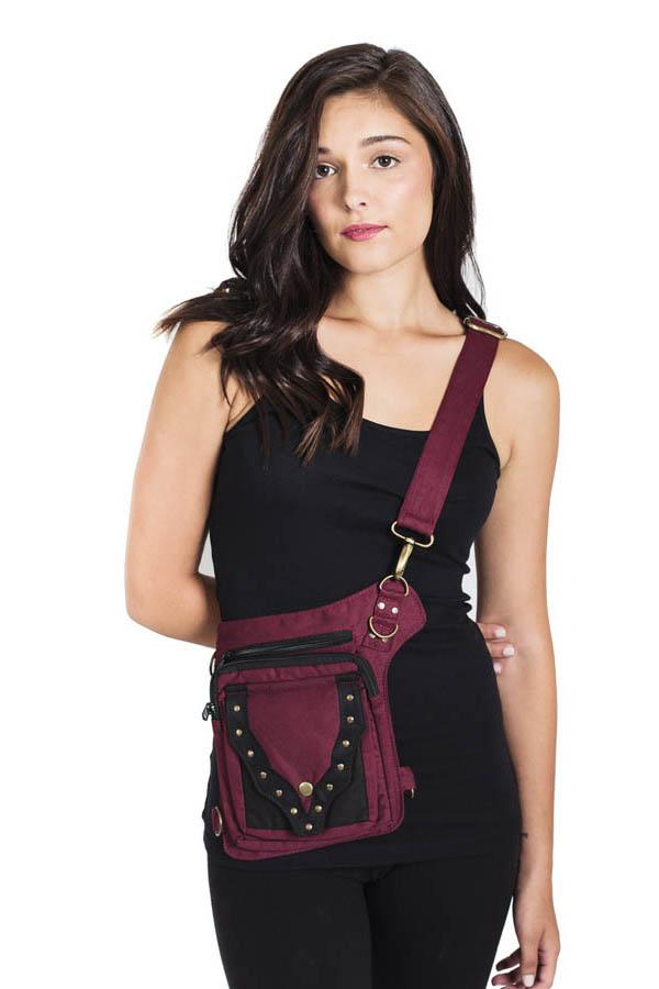 Women's Practical Fannypack Cotton Waistbag Travel Utility Belt