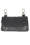 Biker Leather Hip Loop Hanging Bag