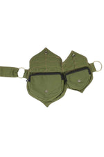 Cotton two Leaf Pocket Waist Belt