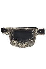 Exotic Vegan Leather Waist Pack