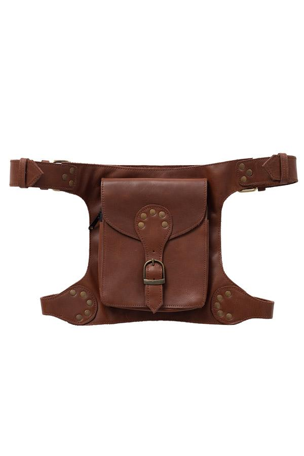 Holster Style Rustic Belt Bag