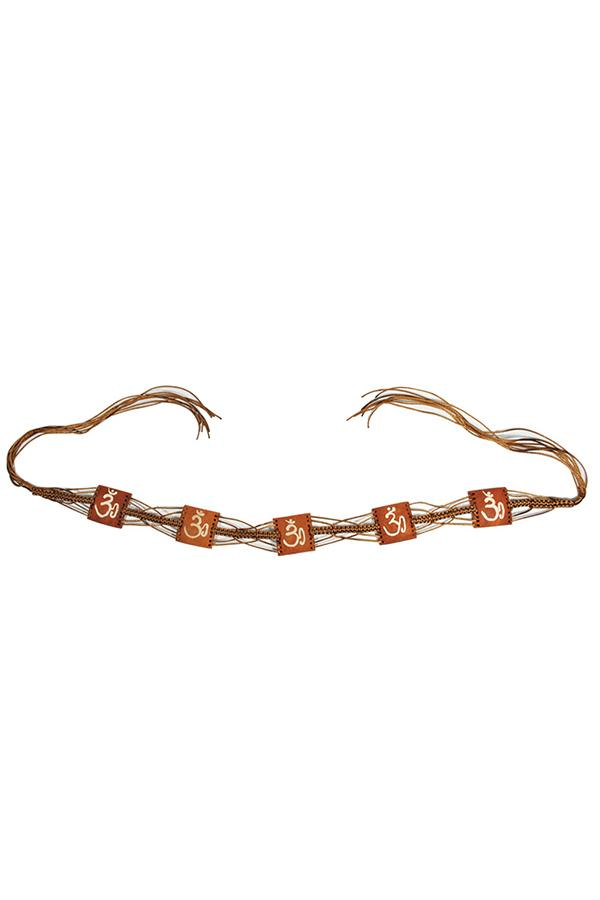 Ethnic Hippie Yoga Summer Womens Om Belt