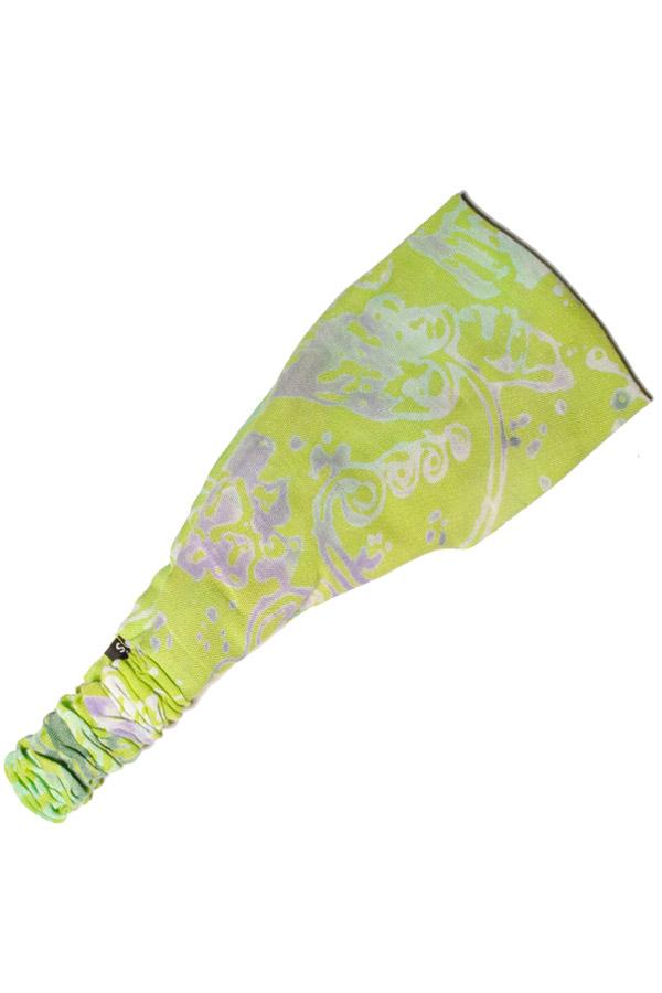 Bali jungle print rayon yoga fitness headband