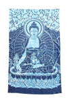 Seated Buddha Stonewashed Tapestry