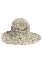 Crocheted Hemp Shade Hat