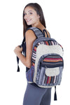 Hitchhiker Hippie Boho Backpack